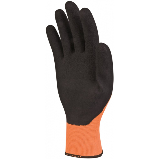 DELTAPLUS Latex foam handschoen high visibility