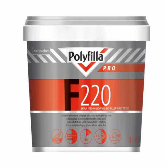 Polyfilla Pro Polyfilla Pro F220